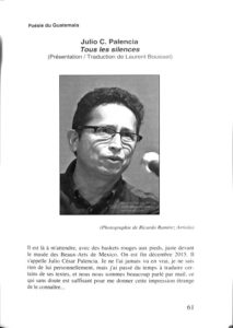 Revista de poesía DÉCHARGE