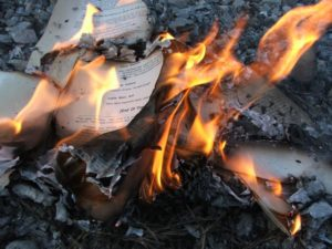 Si mi biblioteca se quemara esta noche