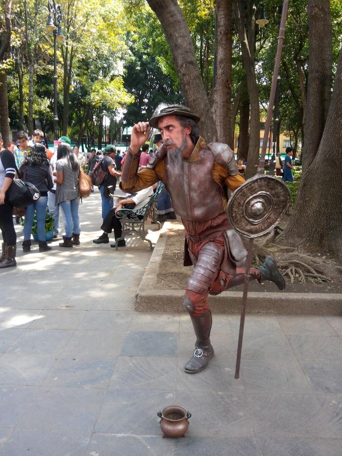 En un lugar de La Mancha... formidable Don Quijote